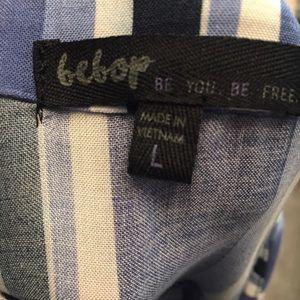 BeBop Pants - Bebop Striped Wideleg Jumpsuit